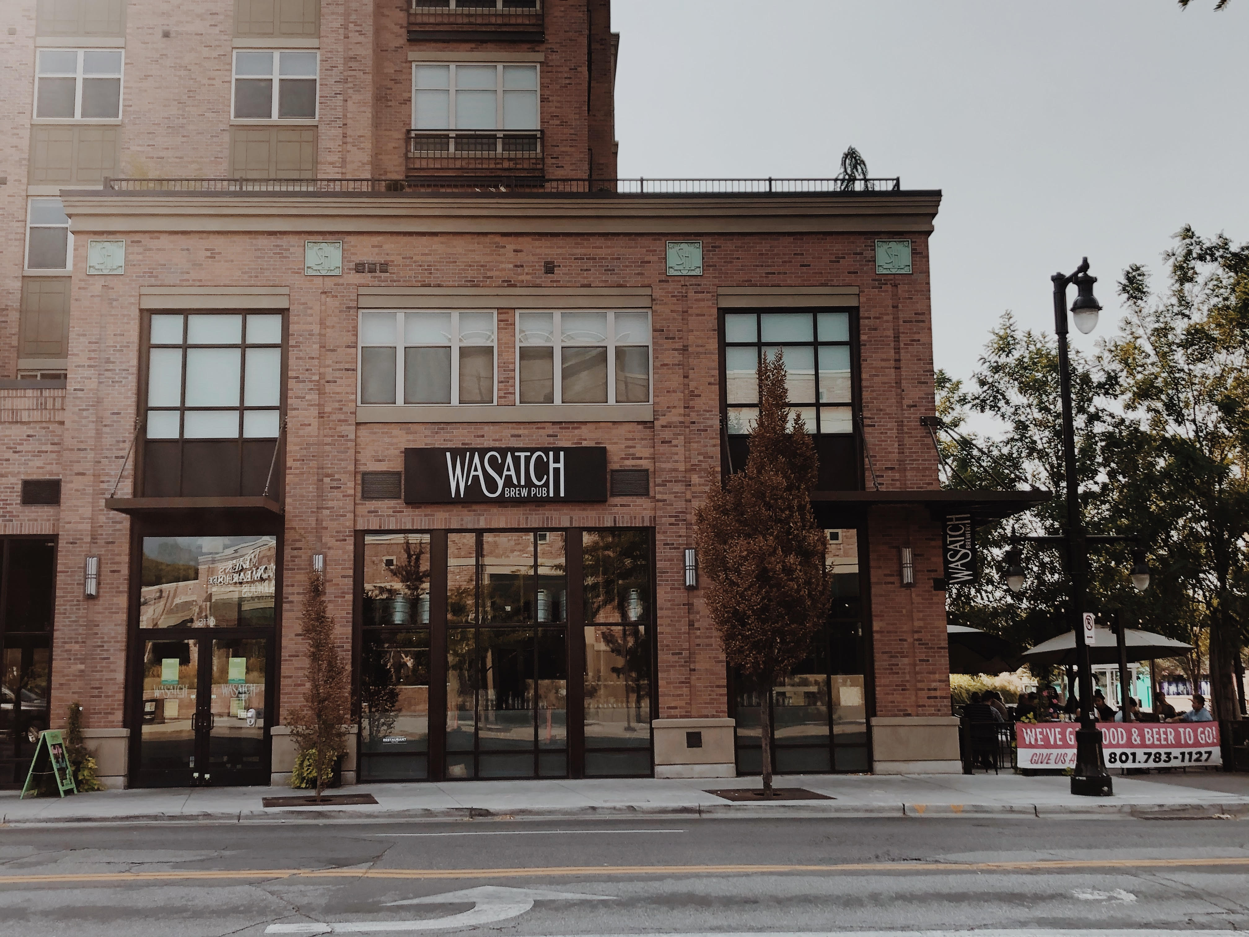 This is a photo of Wasatch Brewery in Sugar House