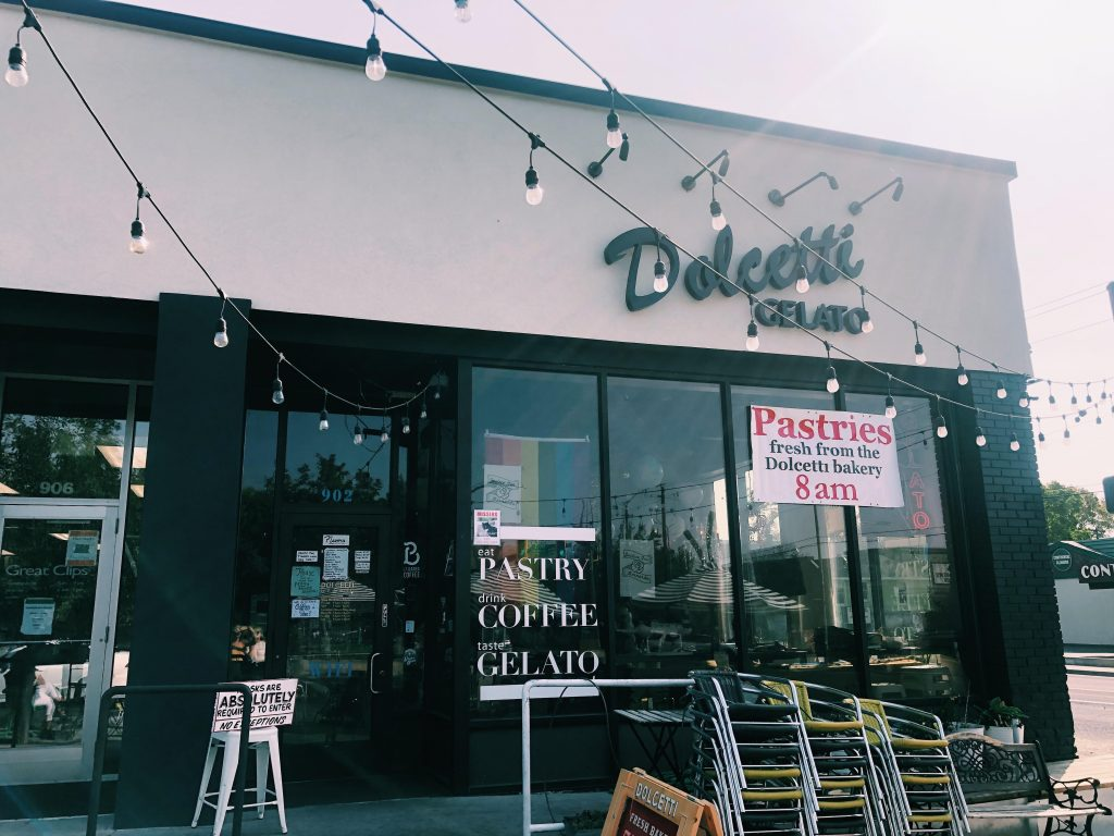 This is the Dolcetti storefront